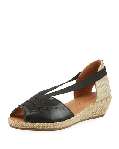 Luci Espadrille Leather Sandal
