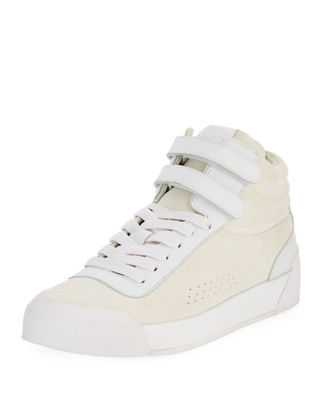 Rag & Bone Nova Mixed Leather Platform Sneaker