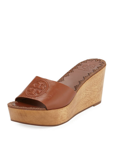 Patty Platform Wedge Slide Sandal