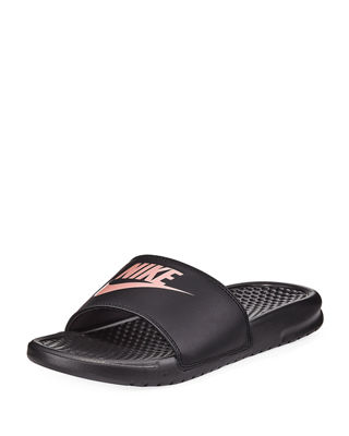 Image 1 of 3: Benassi Flat Pool Sandal