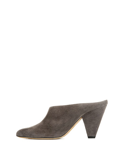 Emberly Suede Slide Mule