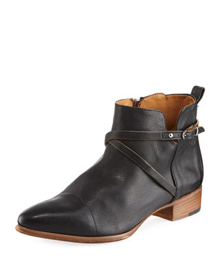 Alberto Fermani Mea Leather Ankle Boot