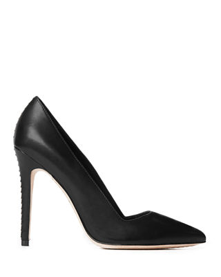 Image 2 of 4: Dina Leather 95mm Pump