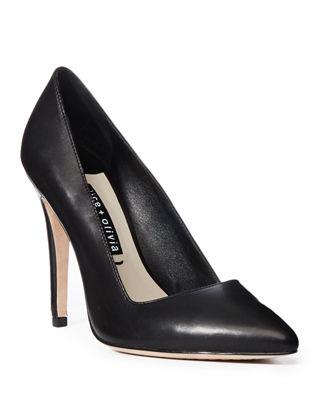 Image 1 of 4: Dina Leather 95mm Pump