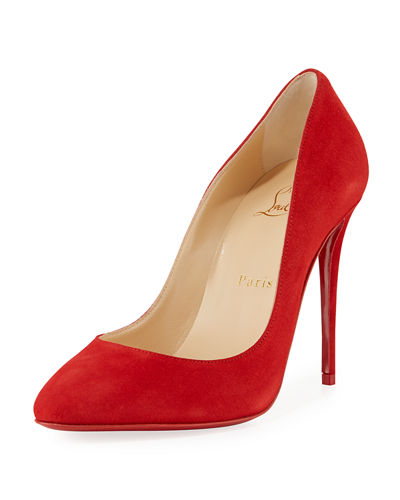 d8763e482da8 Quick Look. Christian Louboutin · Eloise 100mm Suede Red ...