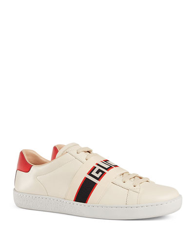 ef6af64abdc Quick Look. Gucci · New Ace Gucci Band Leather Sneaker