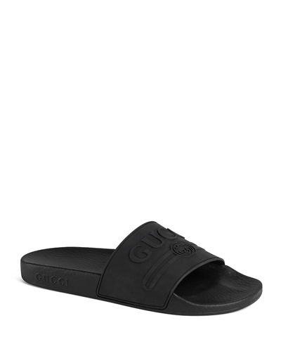 95f7413afa1 Quick Look. Gucci · Pursuit Gucci Rubber Slide