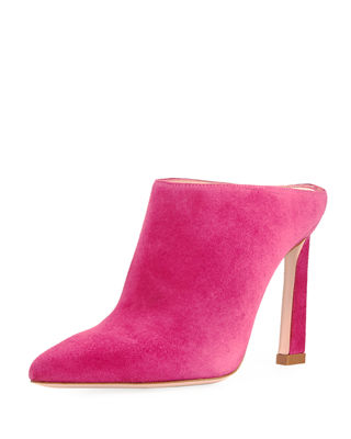 Camila Pointed-Toe Slide Mule