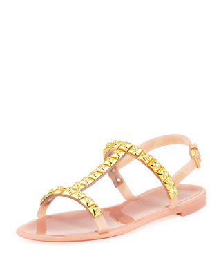 Stuart Weitzman Rubber Thong Sandals