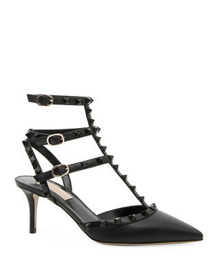 Rockstud Smooth Calf Pump