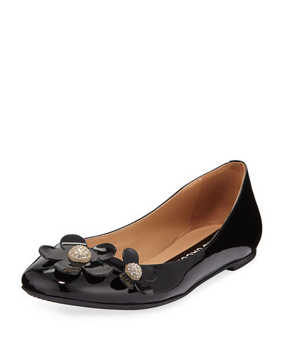 Daisy Leather Ballet Flat