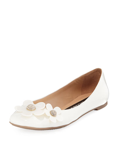 Daisy Leather Ballet Flats