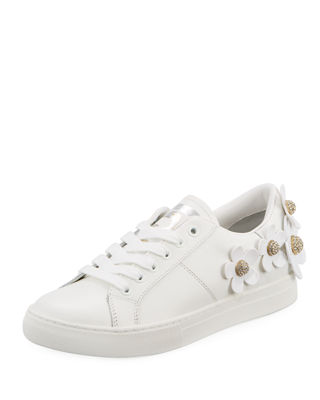 Marc Jacobs Daisy Leather Low-Top Sneakers