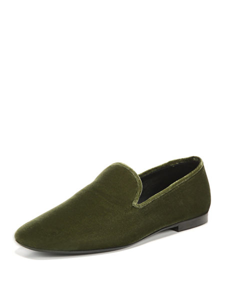 Bray Velvet Loafer