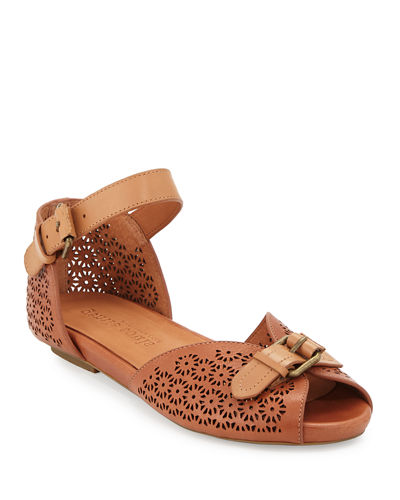 Bessie Laser-Cut Sandals