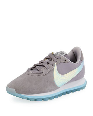Nike Pre-Love O.X. Suede Sneakers with Holograph Swoosh