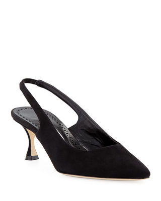Betty Suede Slingback Pump
