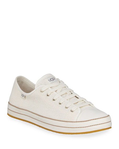 6f046633a28 Claudi Knit Lace-Up Sneakers, Natural