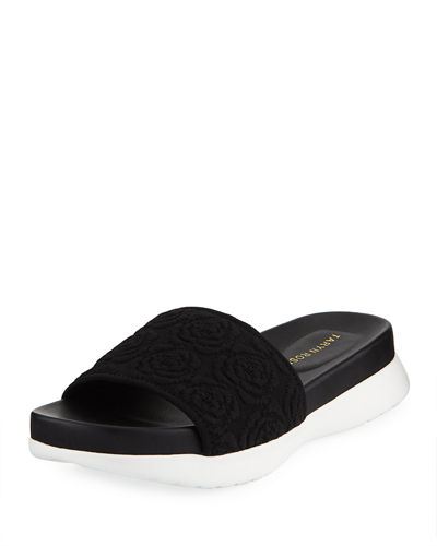 Iris Comfort Knit Pool Slide Sandal