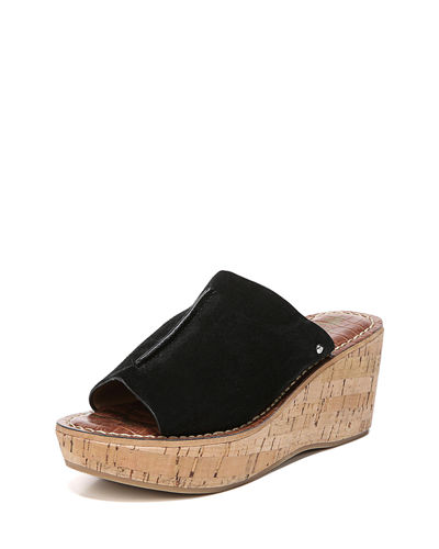 Ranger Suede Wedge Slide Sandal