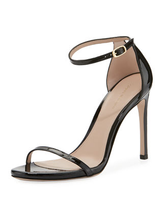 Stuart Weitzman 105NUDIST Traditional Gloss Sandal