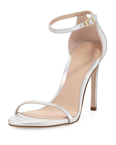105NUDIST Laser Shine  Naked Sandal