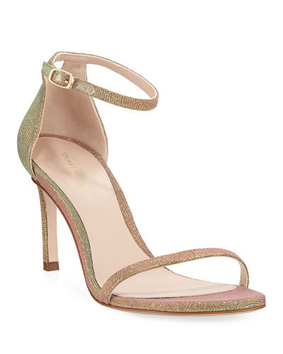 Stuart Weitzman 75NUDISTTRADITIONAL Night Time Naked Sandal