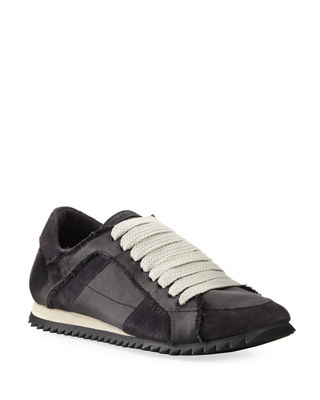 lace-up sneakers - Black Pedro Garcia