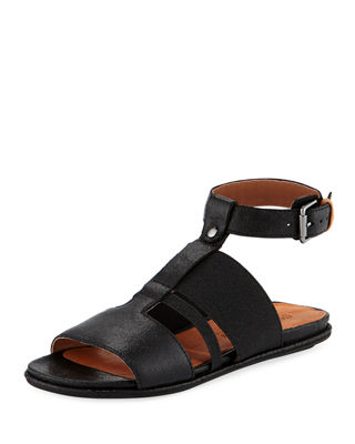 Men/Women Gentle Souls Ophelia Easy Flat Sandal with with with Stretch Strap  Be Roman in Design 2c5d80