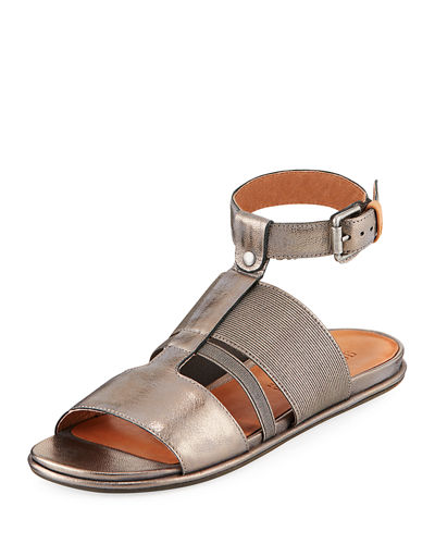 Ophelia Easy Flat Sandal with Stretch Strap