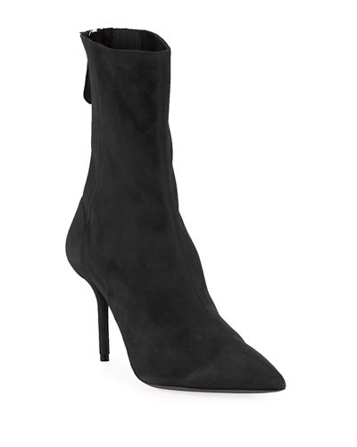 Saint Honore 85mm Pleated Bootie