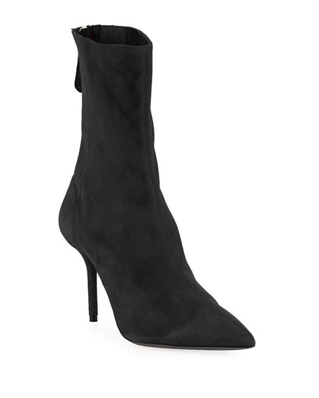 Aquazzura Women's Saint Honore Pointy Toe Bootie NsSQXk