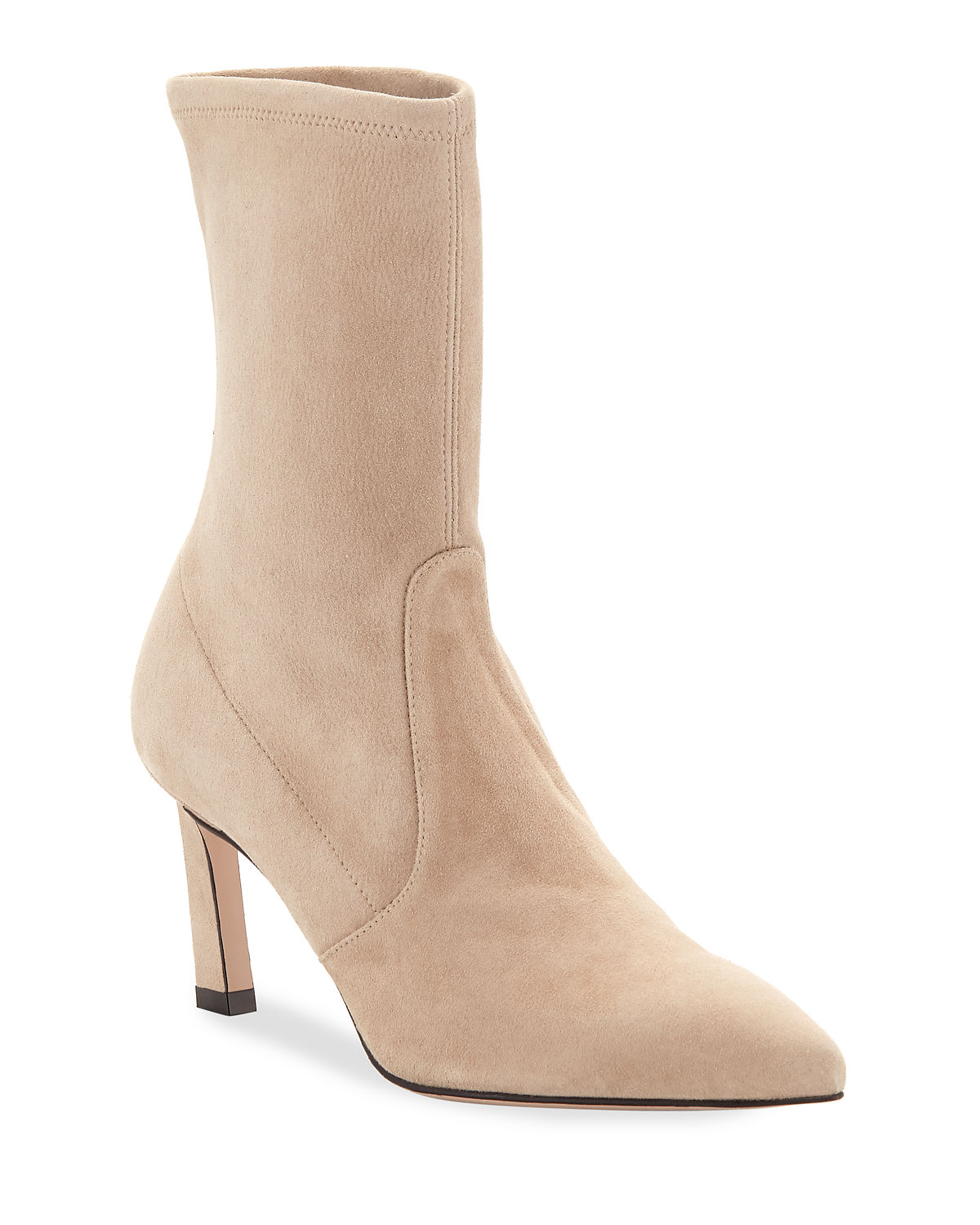 Rapture 75mm Suede Sock Bootie
