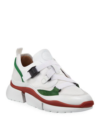 Chloe Sonnie Multicolor Buckle Sneakers