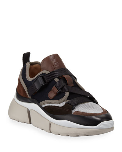 Sonnie Multicolor Buckle Sneakers