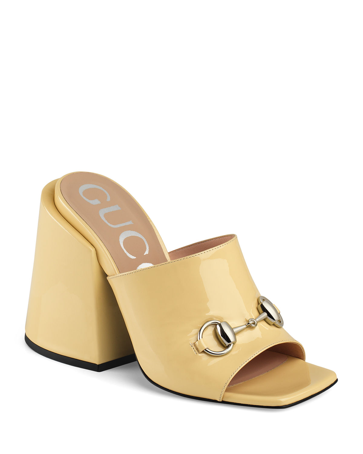 Lexi 105mm Patent Leather Slide