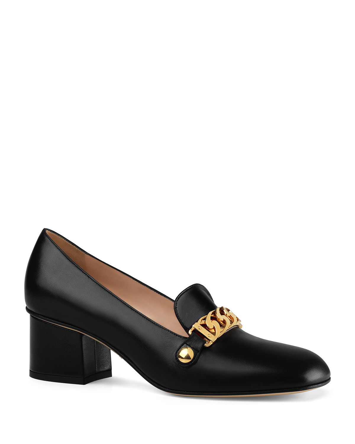 06445fc2cad Gucci Sylvie 55mm Leather Loafer