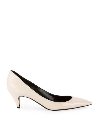 Charlotte Patent Point-Toe Pump