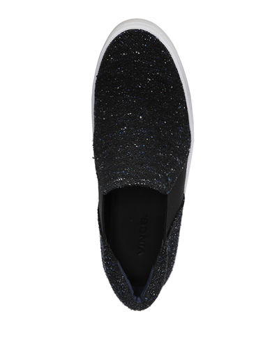 Warren Tweed Platform Skate Sneakers
