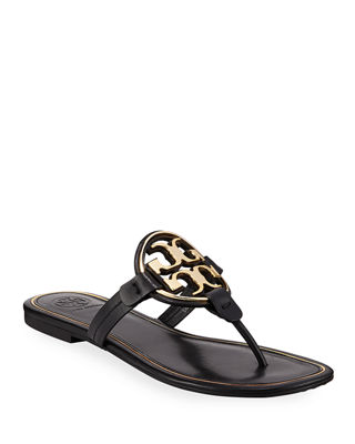 Tory Burch Woman Crystal-embellished Leather Slides White Size 7.5 Tory Burch