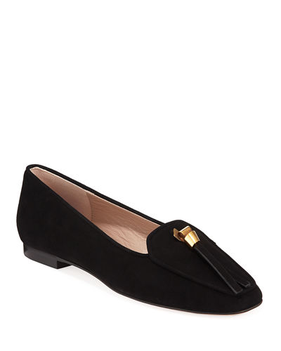 Slipknot Easy Flat Suede Loafers