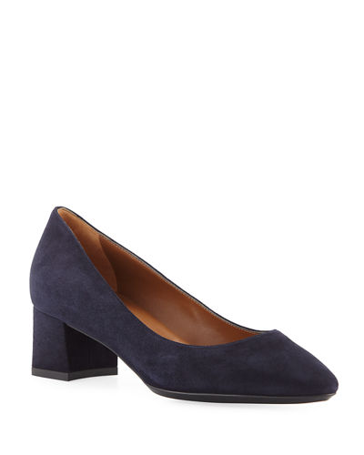 Pasha 40mm Suede Pumps