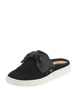 IDA BOW SLIDE MULE SNEAKERS