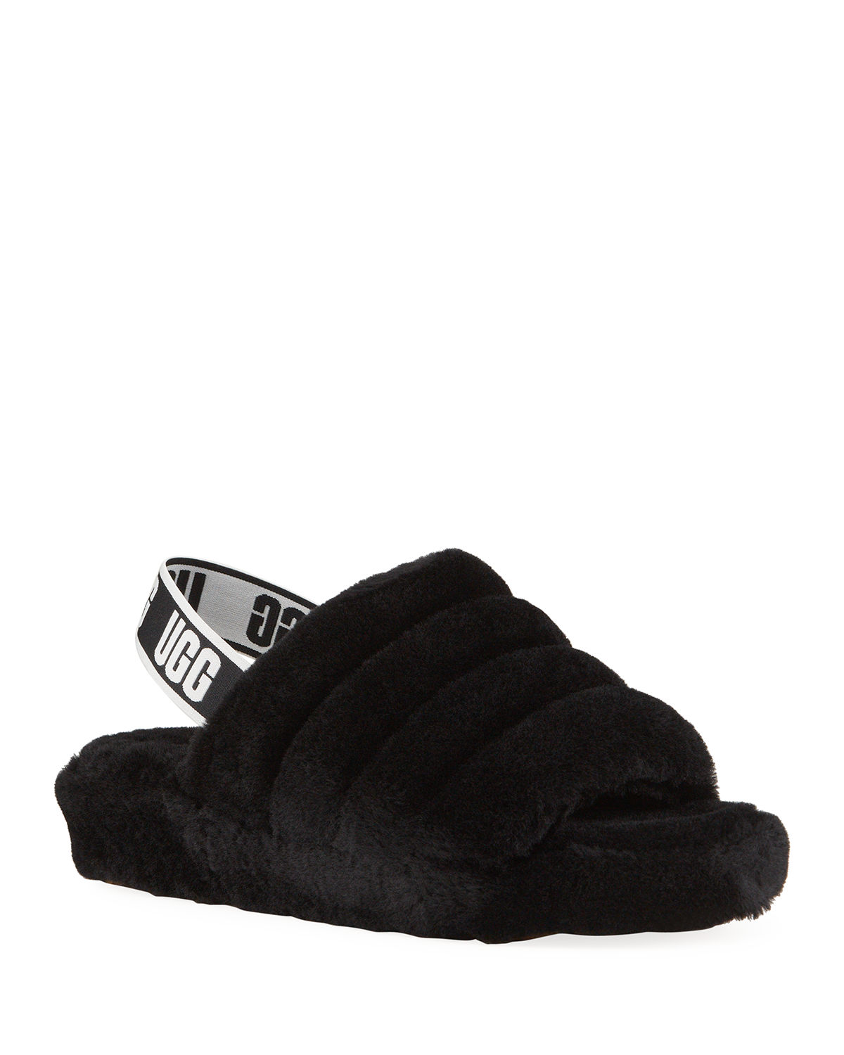 adc55441351 Fluff Yeah Shearling Sandal Slippers