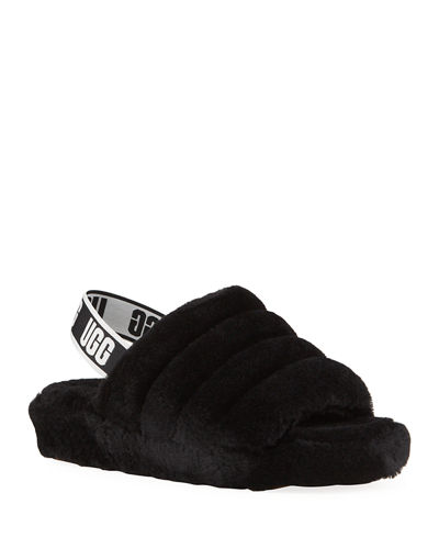 Fluff Yeah Shearling Sandal Slippers