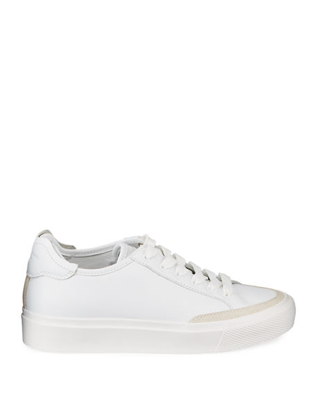 Image 3 of 5: Rag & Bone RB Army Leather Low-Top Sneakers