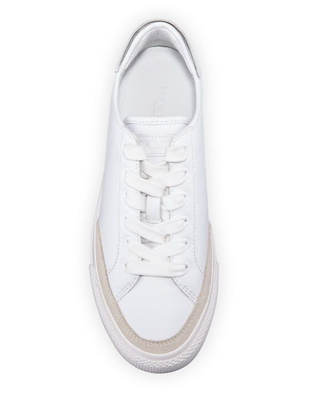 Image 4 of 5: Rag & Bone RB Army Leather Low-Top Sneakers