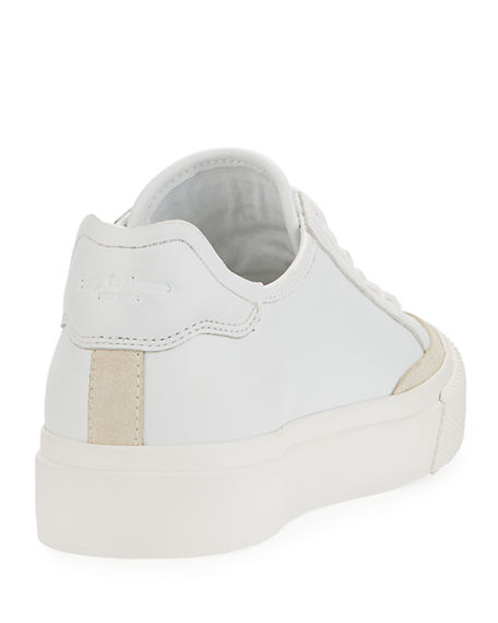 Image 5 of 5: Rag & Bone RB Army Leather Low-Top Sneakers