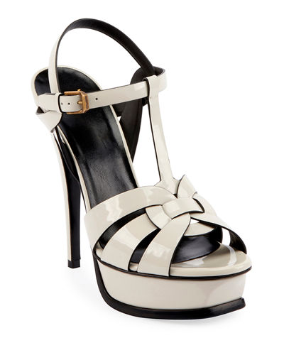 Tribute 105mm Patent Platform Sandals
