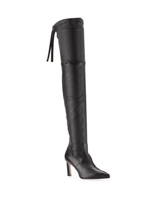 Natalia 75mm Leather Over-The-Knee Boots and Matching Items